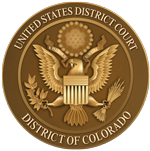 United States District Court - District of Colorado Seal