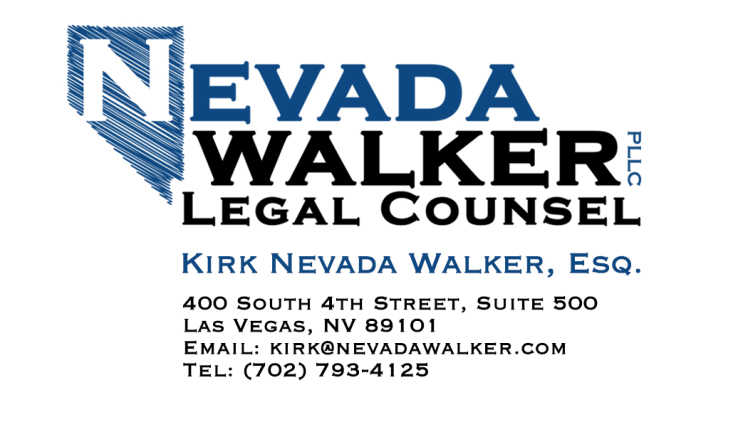 Navada Walker Business Card